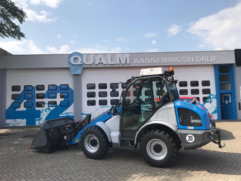 Kramer Wiellader 8085L voor Qualm Aann. Bedrijf