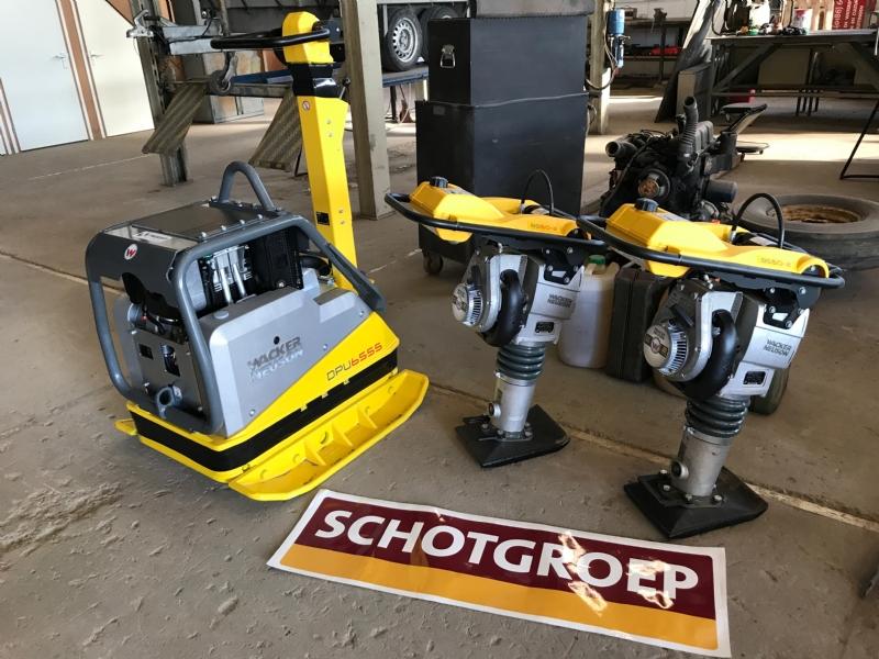 CX60C, stampers en trilplaten voor Schotgroep.