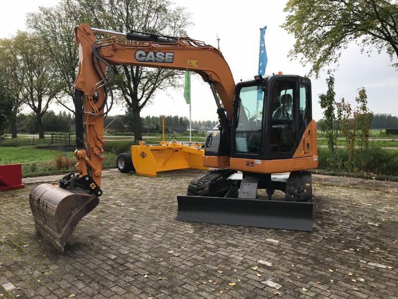 Nieuwe Case CX75C voor Van den Broek Mechanisatie