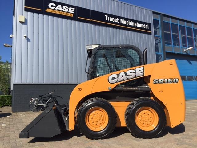 Nieuwe Case schranklader SR160 voor Kriesels