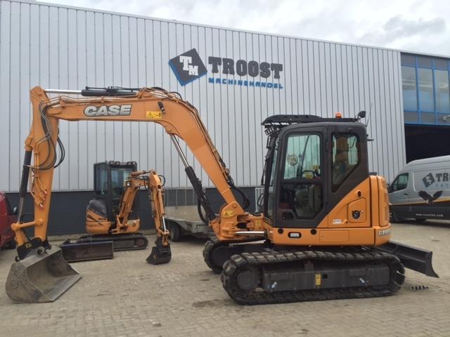 Case duo: CX80C en CX210C voor Van der Schee