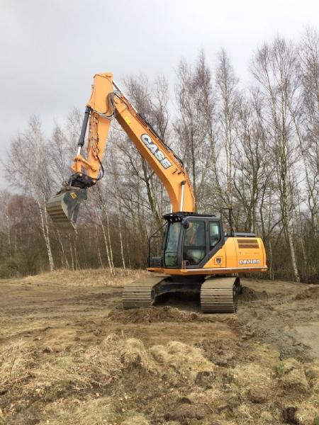 Nieuwe Case CX210D voor Oosthoek Groep