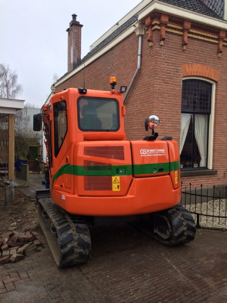 Nieuwe Case CX80C voor De Groot & Schagen