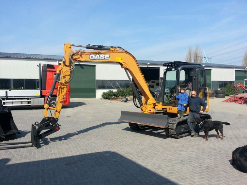 Case CX80C voor Bas vd Windt