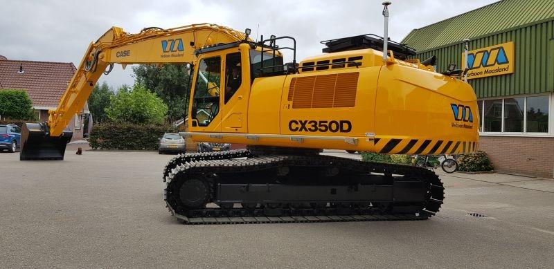 Case CX350D voor Verboon Maasland