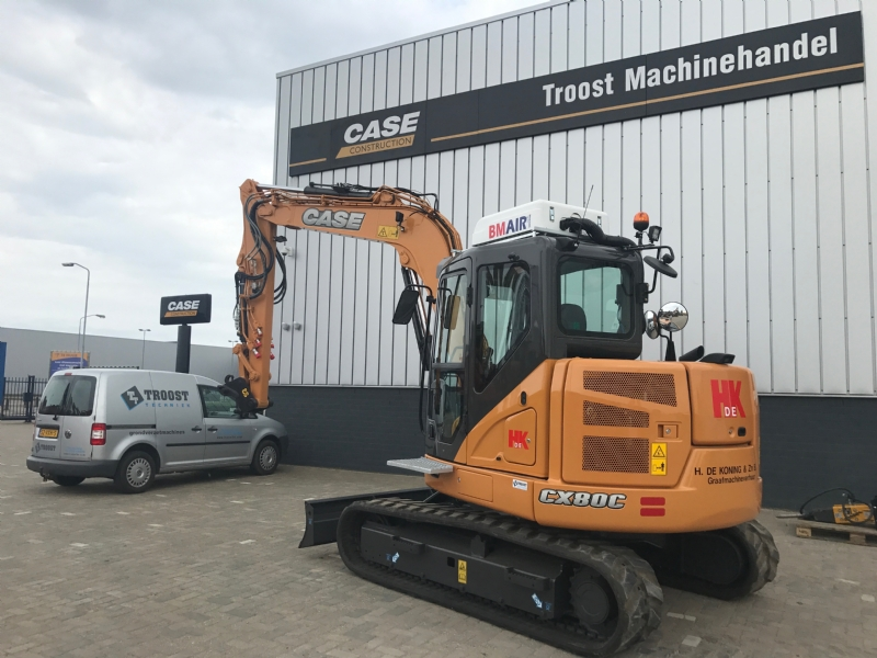 Case CX80C voor De Koning en Stoutjesdijk