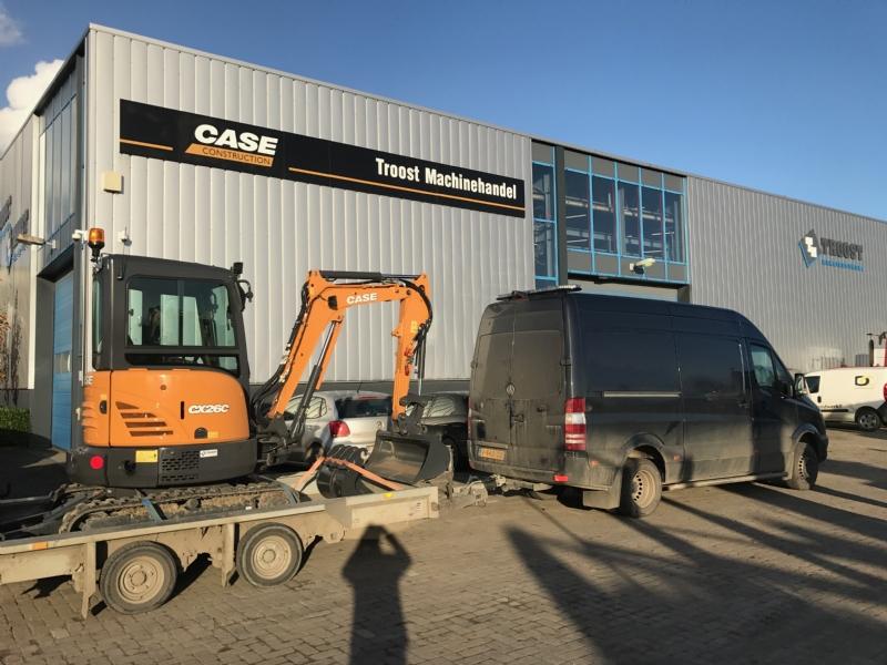 Nieuwe Case CX26C voor Schelling