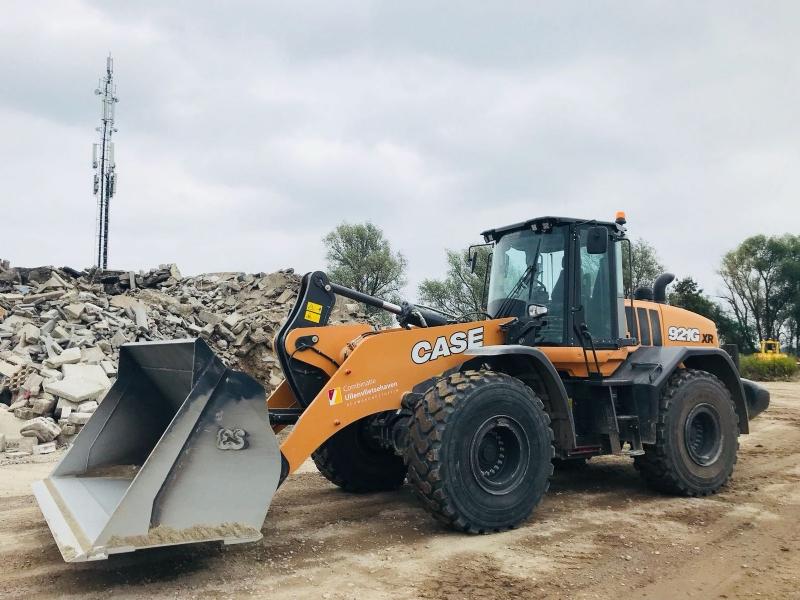 Nieuwe Case 921G XR voor Schotgroep en combinatie Uilenvlietsehaven