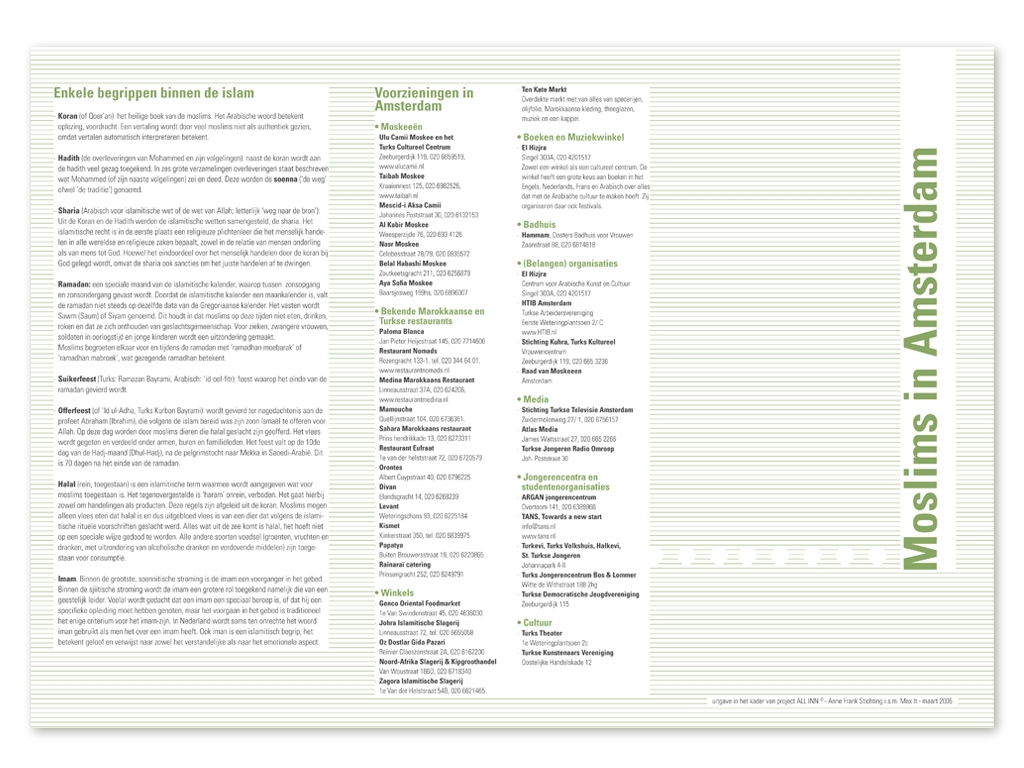 Informatie flyer #3