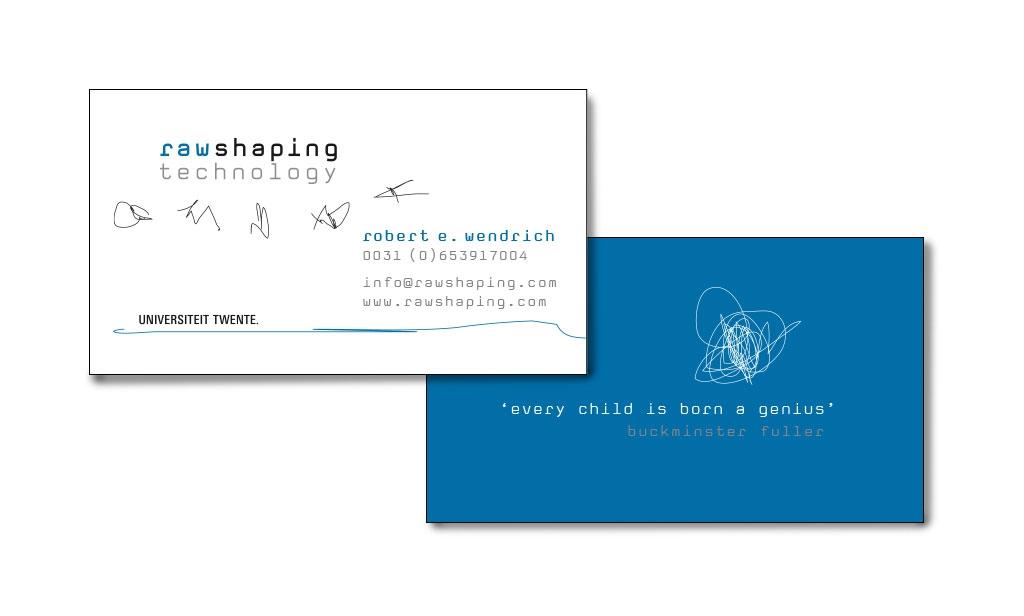 Ontwerp logo en visitekaartje